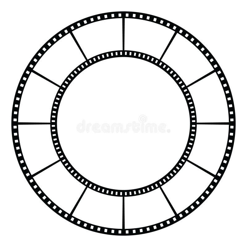 Film tape. stock illustration