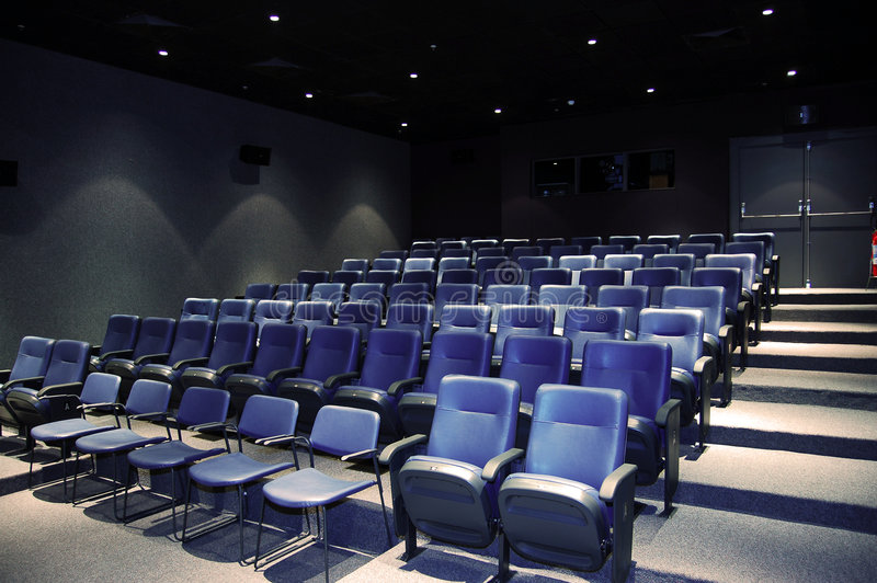 Film-Theater stockfoto