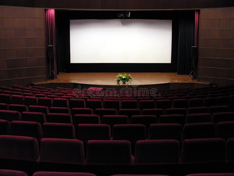 Film-Theater lizenzfreie stockfotos