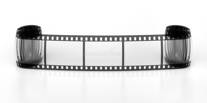 Film_three_frames (19) .jpg fotografia de stock