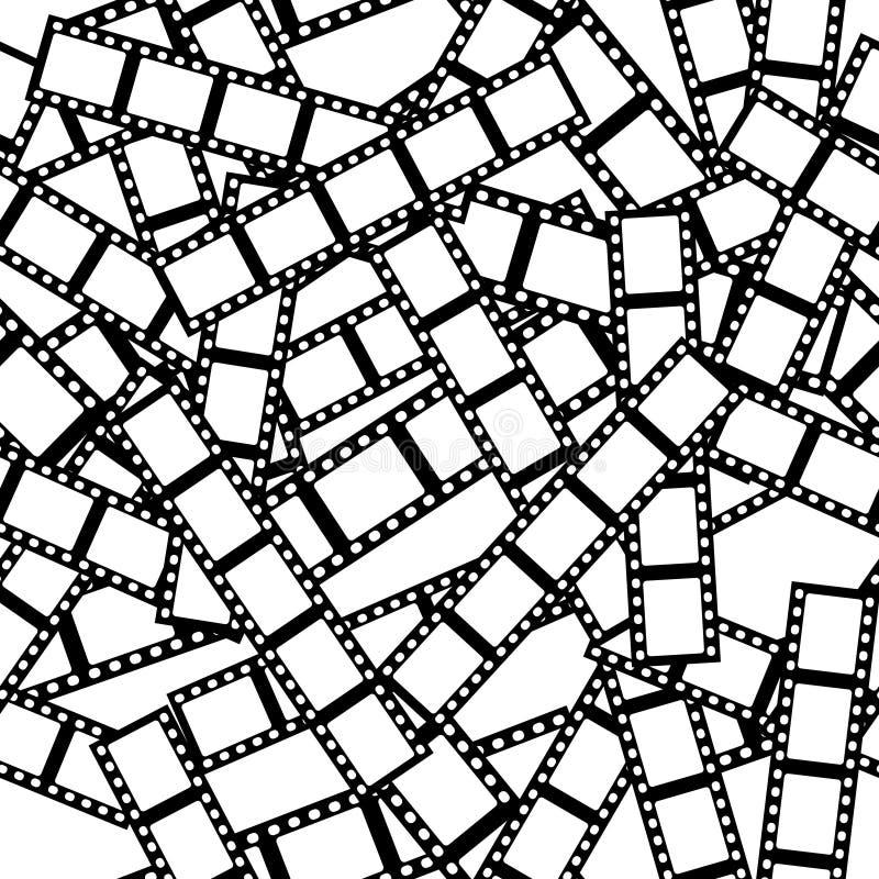 Film Tile royalty free illustration
