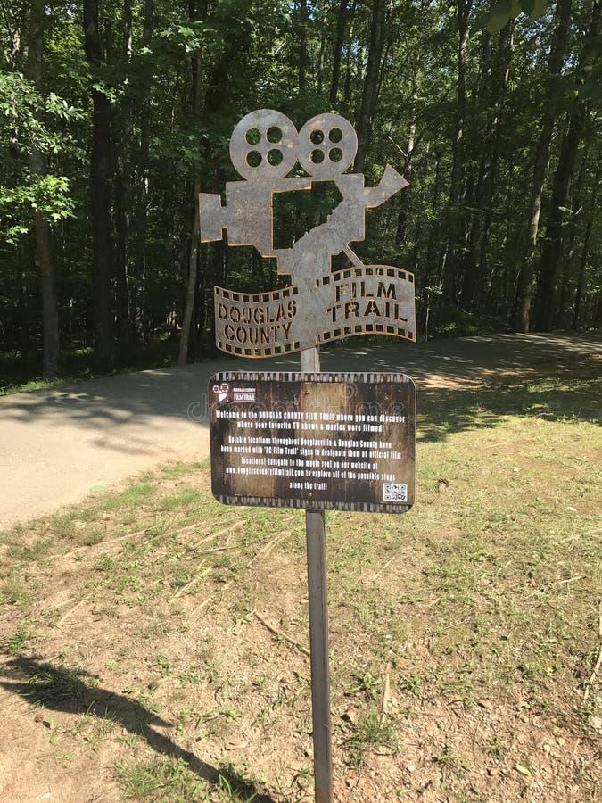 Film Trail stock image