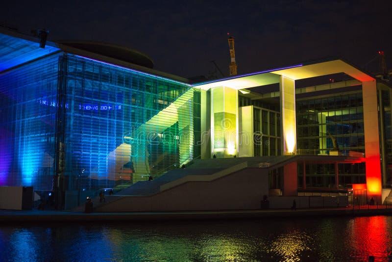 Lichtshow Bundestag