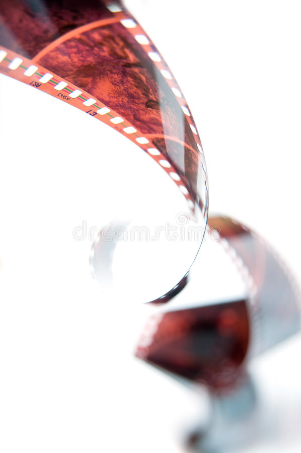 Film in waves royalty free stock photo