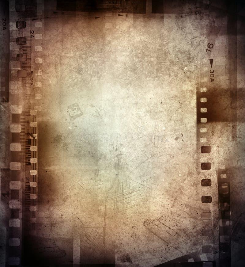 Filma negationar arkivbilder