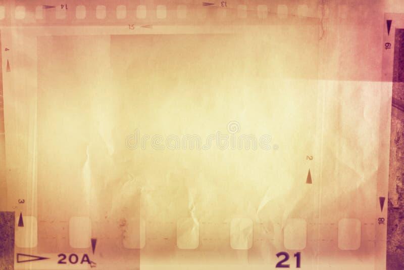Filma remsabakgrund arkivbild