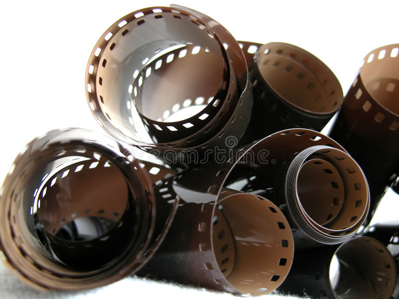 Filmbandspule stockfoto