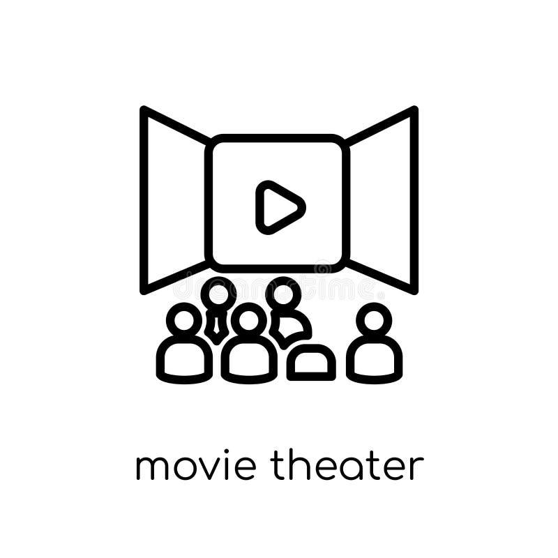 Filmbiografsymbol  stock illustrationer