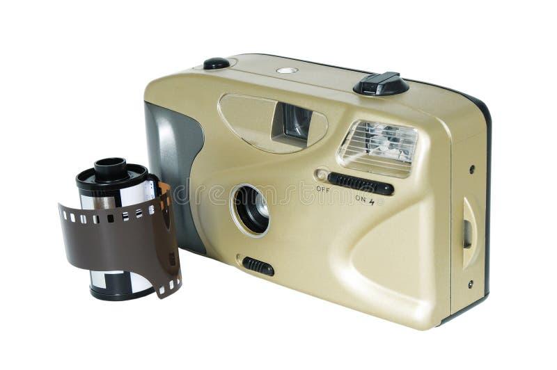 Filmcamera en film stock afbeelding