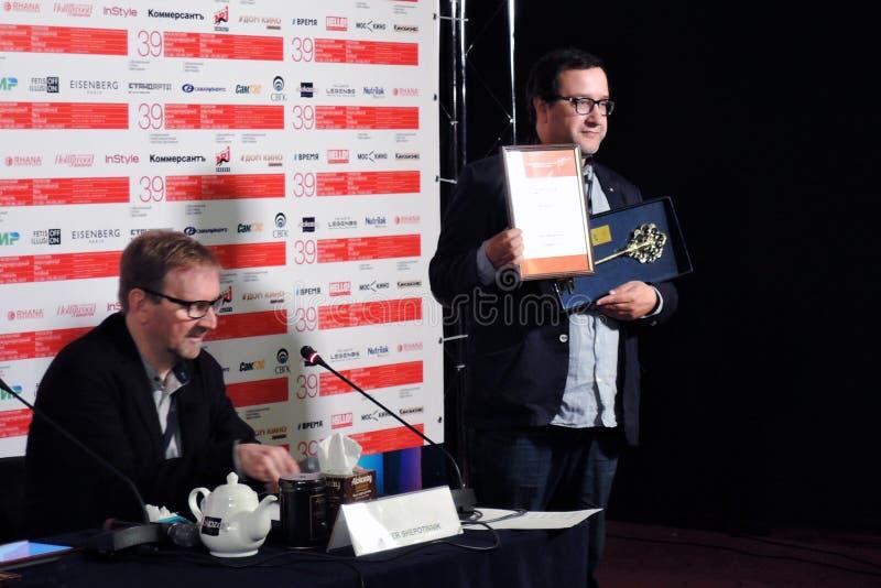 Filmdirektör Vladimir Kott royaltyfria bilder