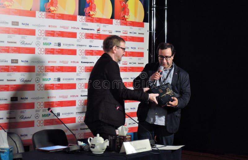 Filmdirektör Vladimir Kott arkivfoton