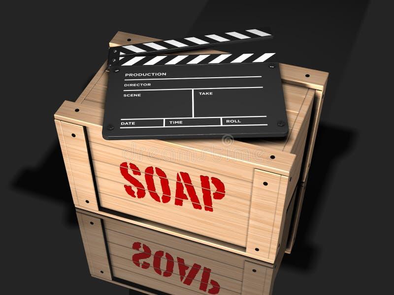 Filme com uma mensagem imagem de stock