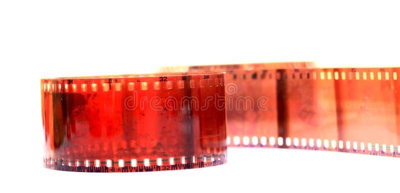 Filme danificado da câmera fotos de stock