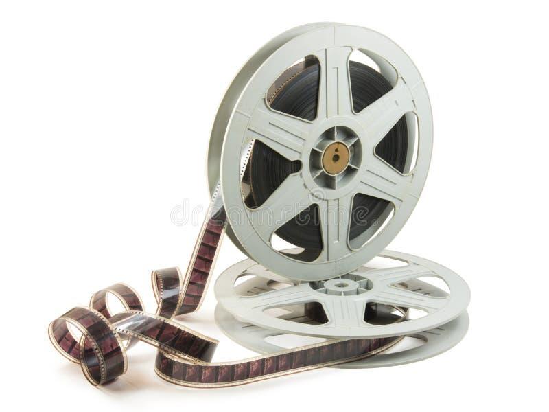 filme de 35mm em dois carretéis imagem de stock royalty free