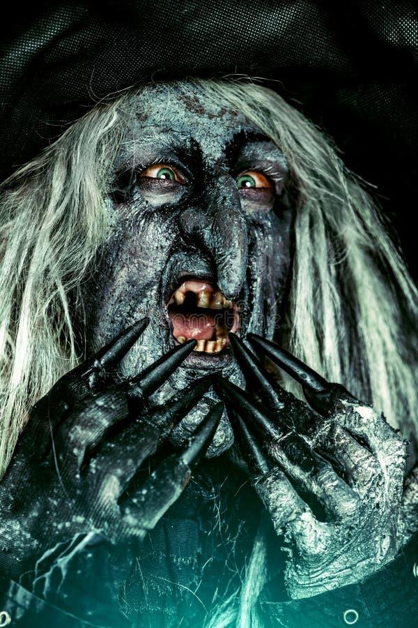 Filme do Dia das Bruxas do horror imagens de stock royalty free