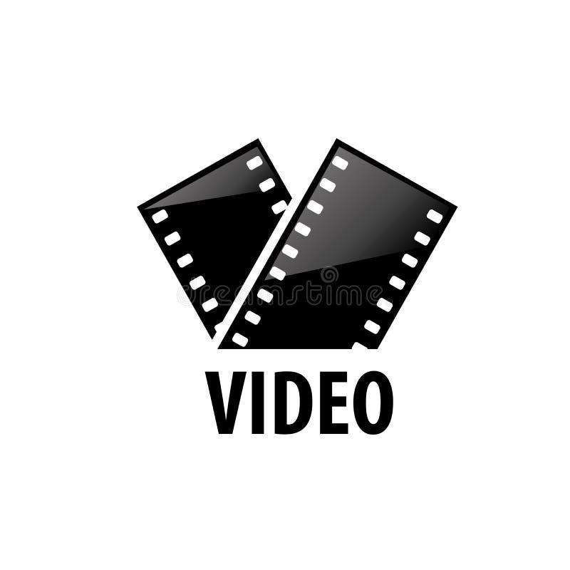 Filme do logotipo do vetor ilustração do vetor