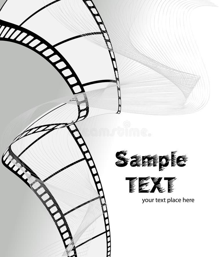 Filme do vetor/película da foto ilustração do vetor