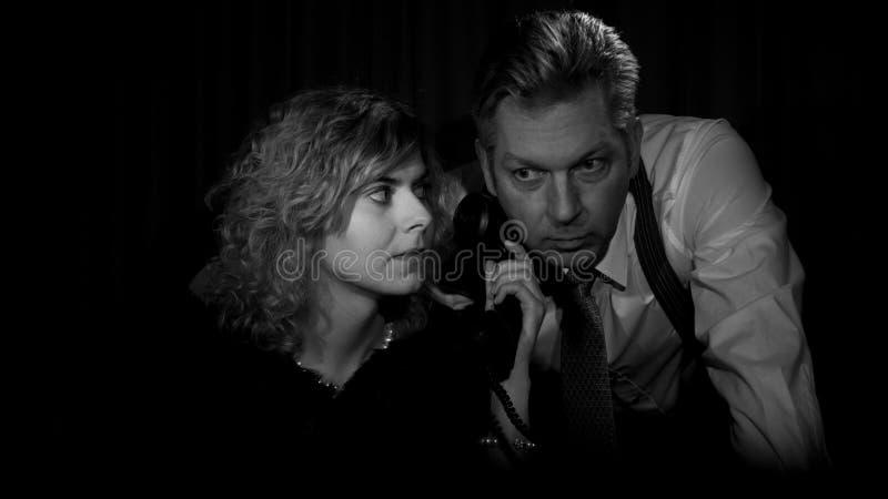 Filme noir imagem de stock