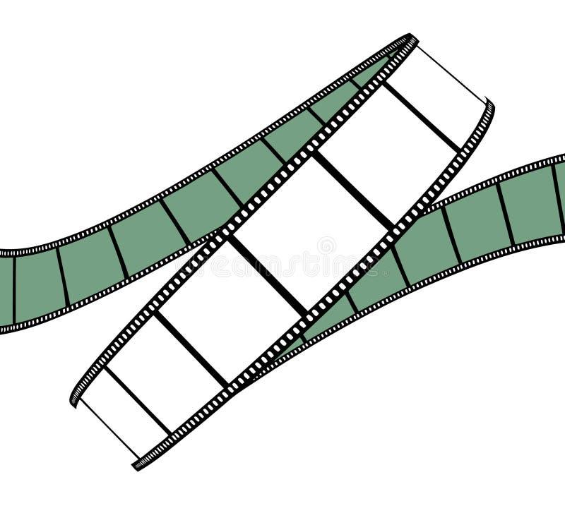 Filme/película da foto ilustração stock