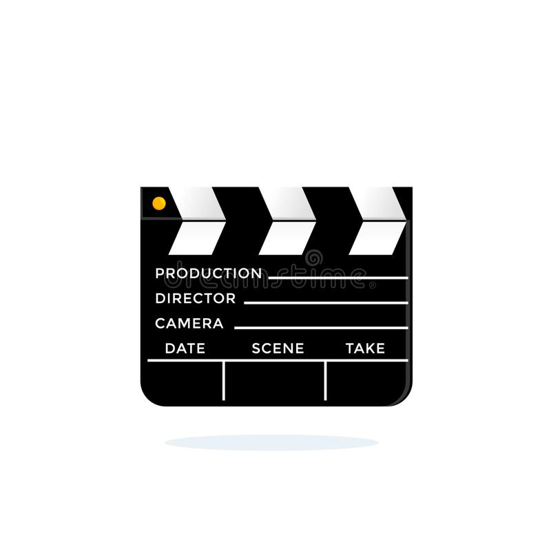 Filme que faz a ripa Placa de válvula do diretor ilustração do vetor