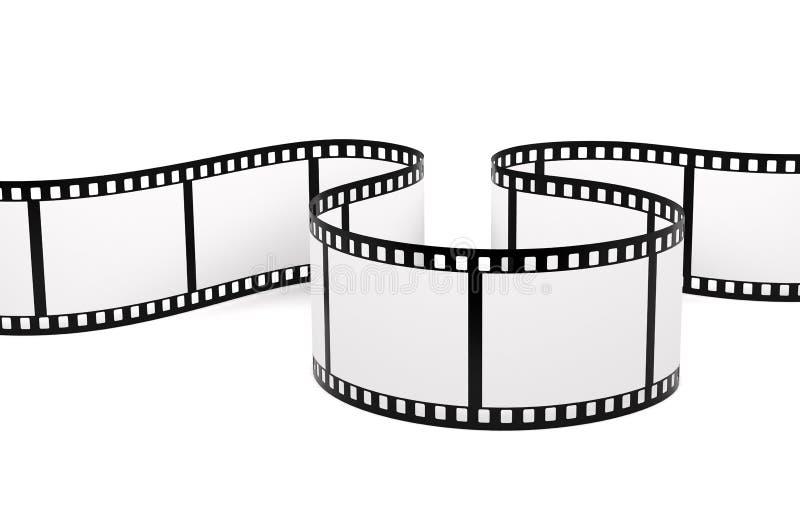 Filme a tira fotografia de stock