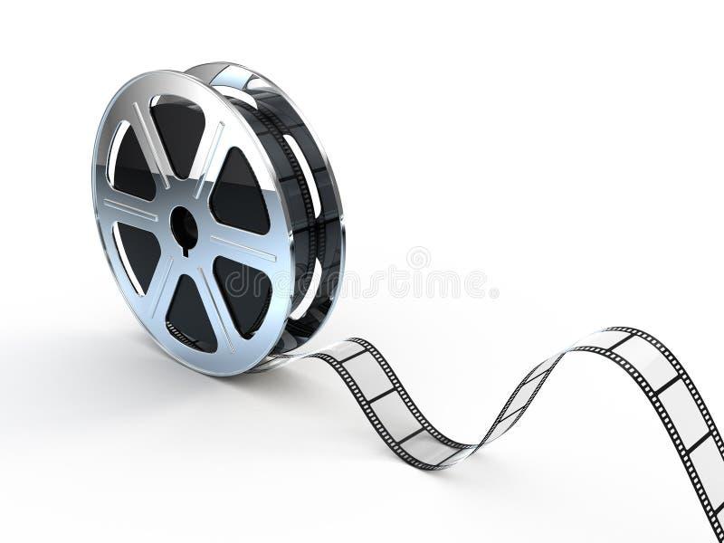 filmen films filmrullen stock illustrationer
