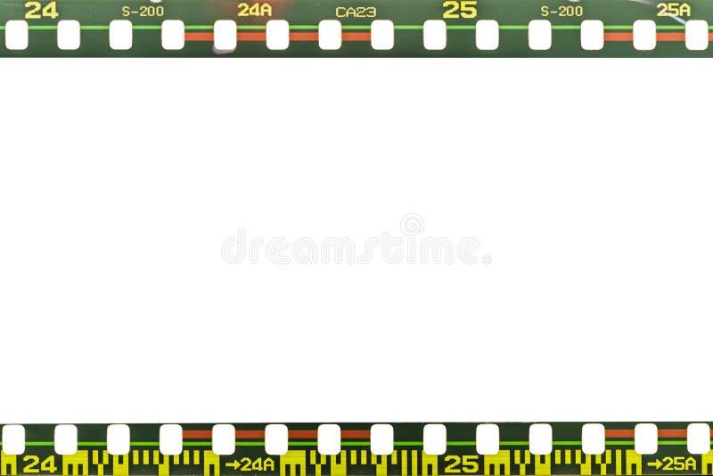 Filmen Sie Streifen lizenzfreies stockbild
