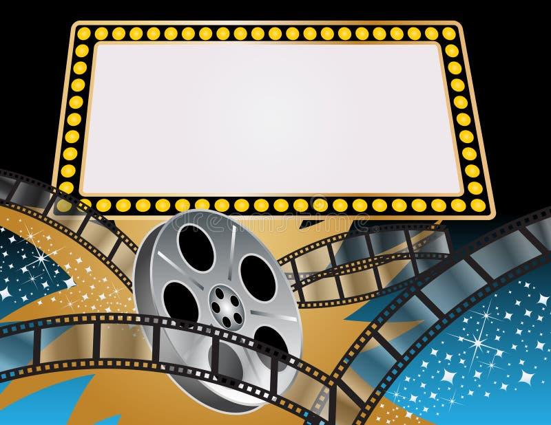 filmer royaltyfri illustrationer