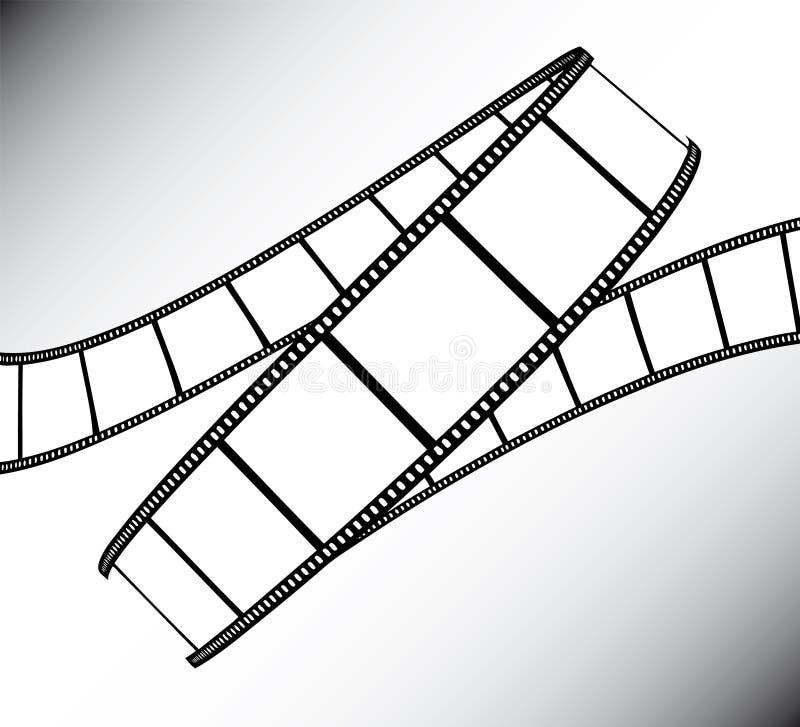 filmfilmfoto vektor illustrationer