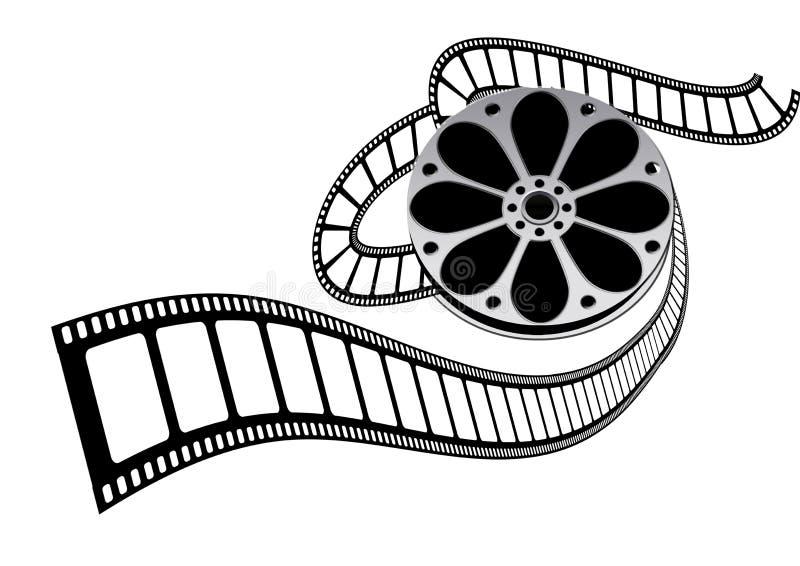 filmfilmrulle royaltyfri illustrationer