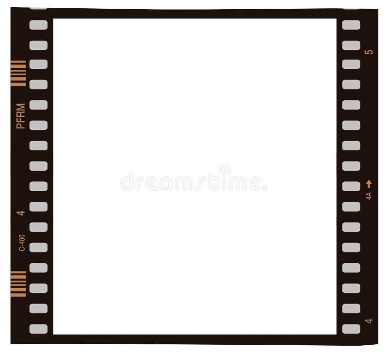Filmfotofeld stock abbildung