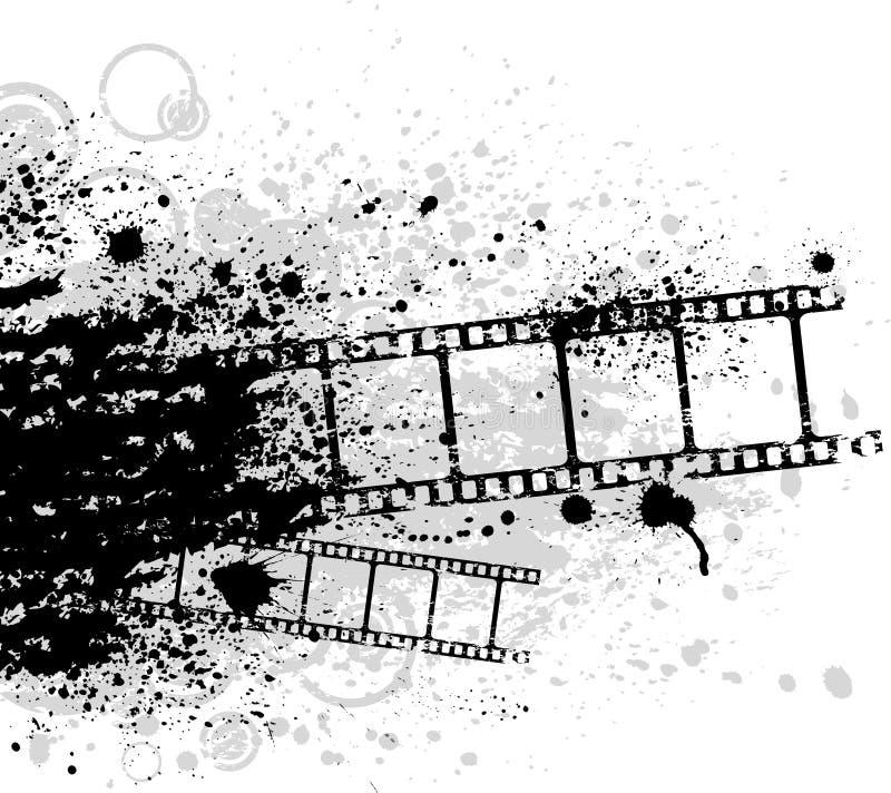 filmgrunge royaltyfri illustrationer