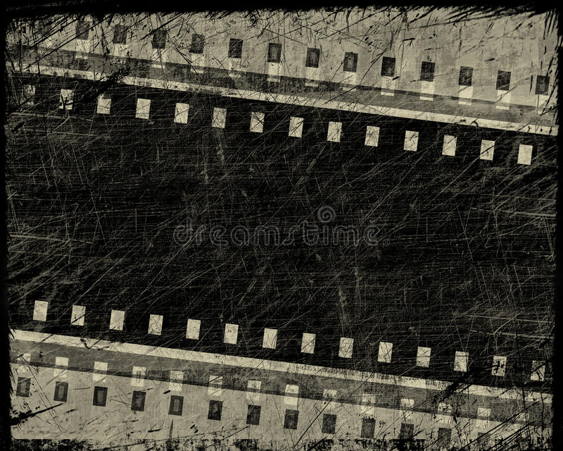 filmgrungeband vektor illustrationer