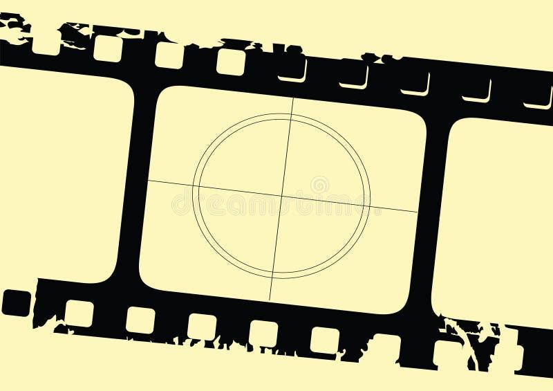 filmgrungeremsa vektor illustrationer