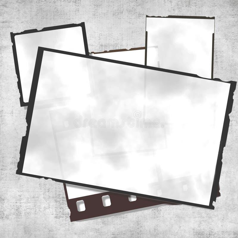 filmgrungetappning stock illustrationer