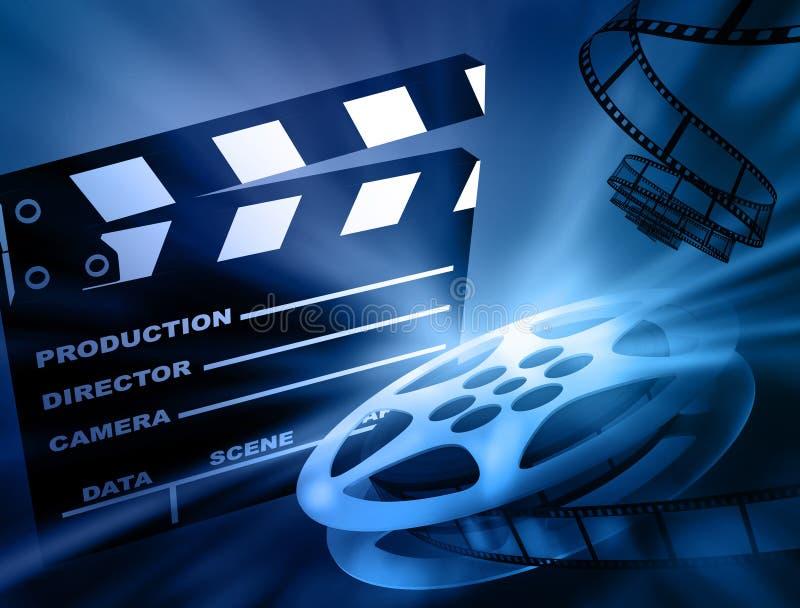 Filmhintergrund. lizenzfreie abbildung