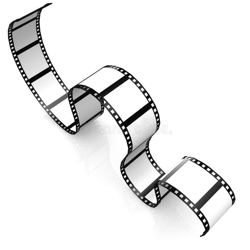 Filmi la striscia illustrazione vettoriale