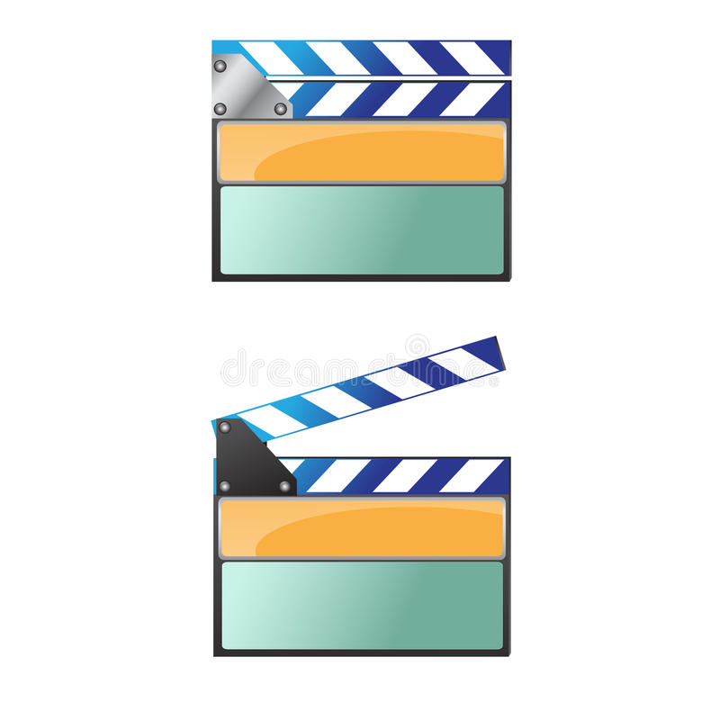 Filmikone vektor abbildung