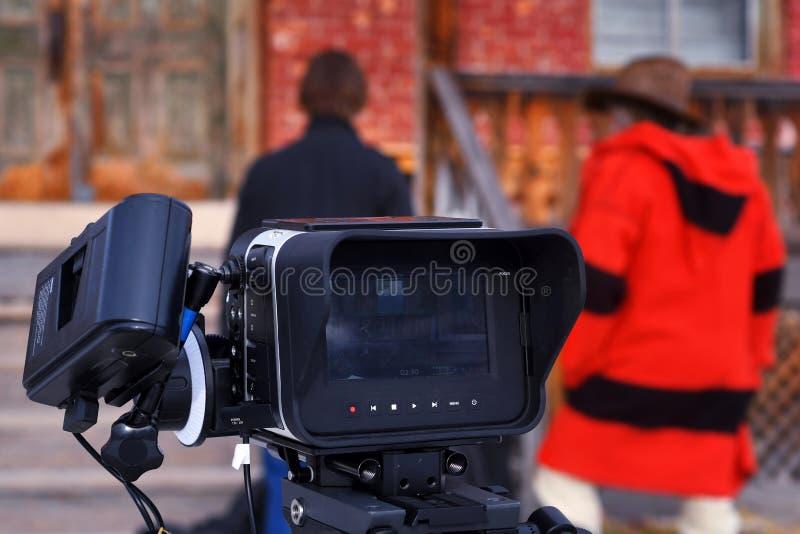Filmkamera lizenzfreies stockfoto