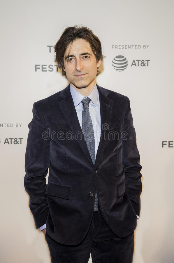 Filmmaker Noah Bambach Arrives at 2017 Tribeca Film Festival. Writer, director, and independent filmmaker and Oscar nominee, Noah Baumbach, arrives on the royalty free stock images