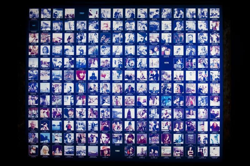 Filmmuseum stock afbeeldingen