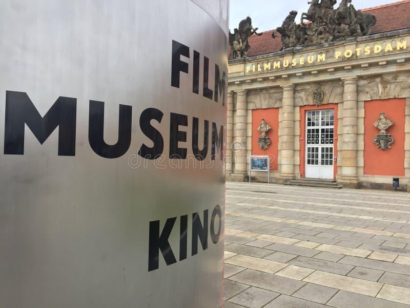 Filmmuseum Potsdam, Germania fotografie stock