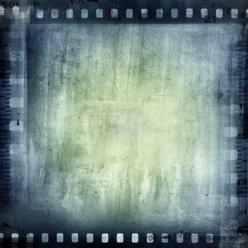 Filmnegationar royaltyfri illustrationer