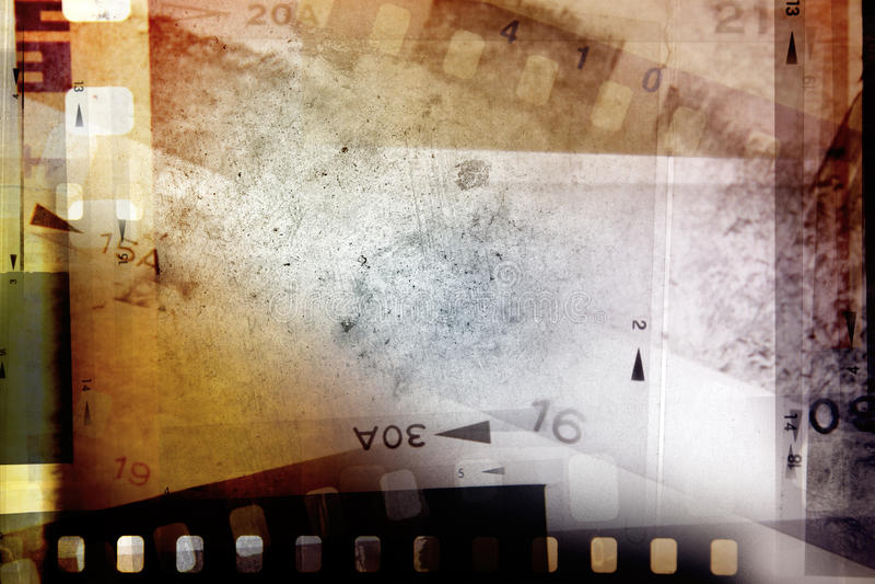 Filmnegative lizenzfreie stockbilder