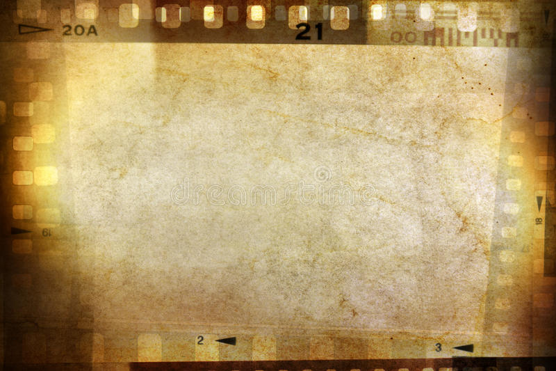 Filmnegative lizenzfreie stockfotos