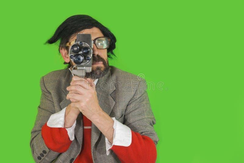 Filmować Niemego przód 2 zdjęcie stock