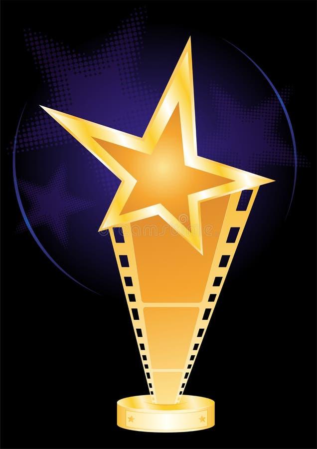 Filmpreis vektor abbildung