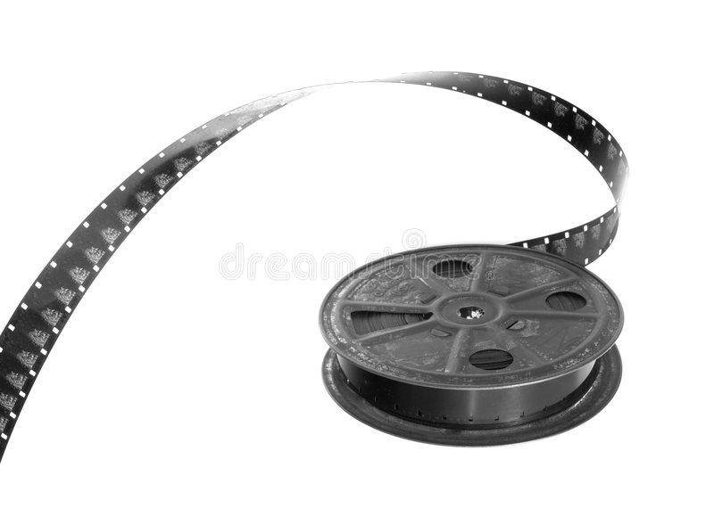 Download Filmreel stock image. Image of monochrome, 16mm, spool - 6516977