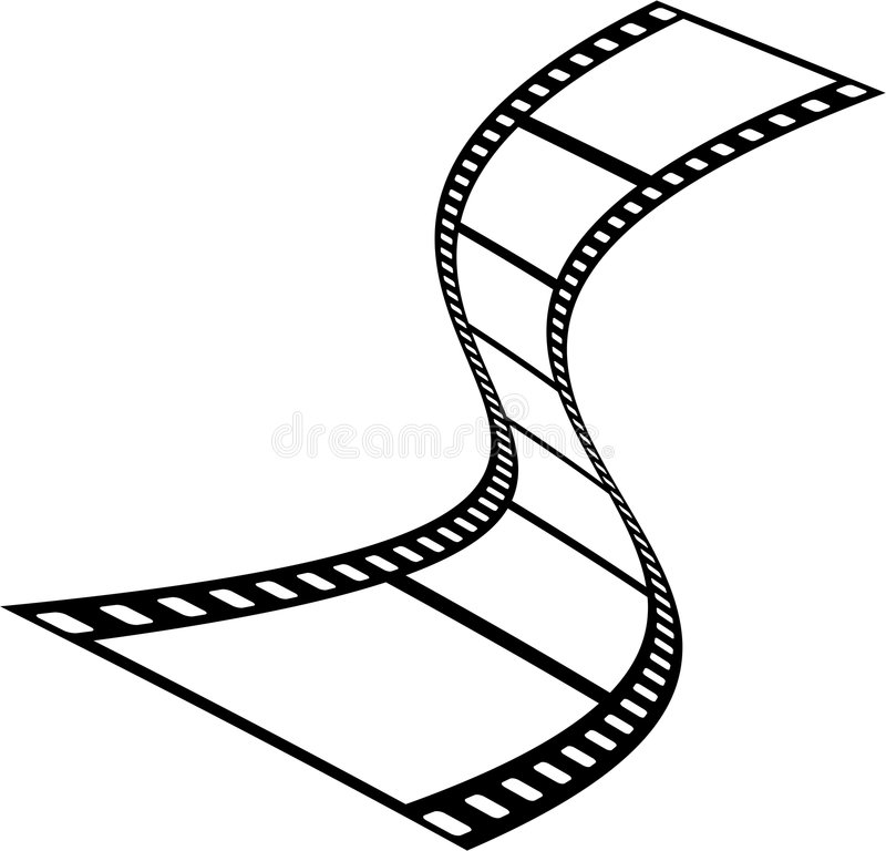 filmremsa vektor illustrationer