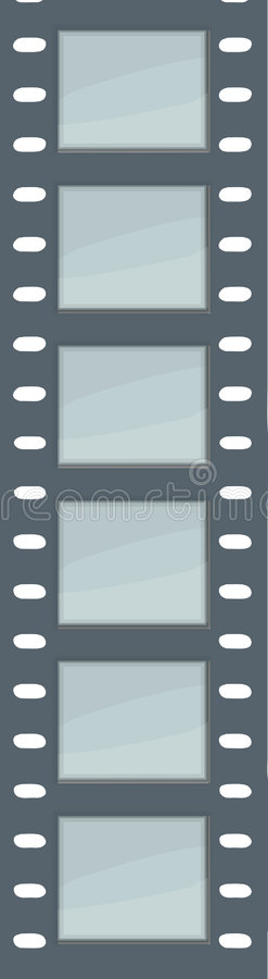 filmremsavektor stock illustrationer